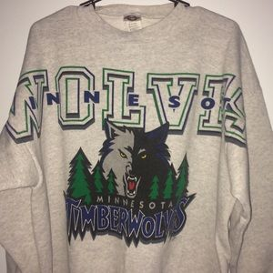 Vintage Minnesota Timberwolves Crewneck